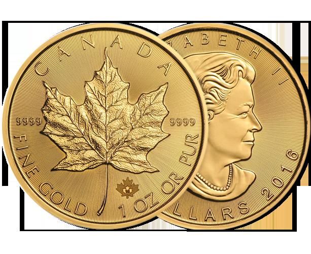 Investir dans l'once Maple Leaf or